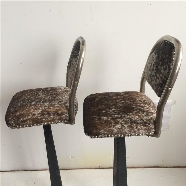 Antique 1930' S Stools - Pair - Image 4 of 8
