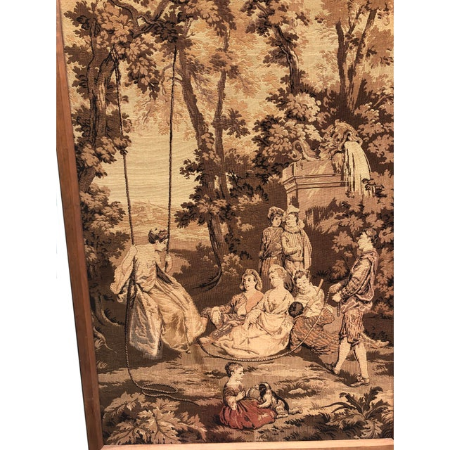19th Century French Tapestries - a Pair For Sale In Dallas - Image 6 of 11