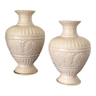 1990s Lenox Athenian Collection Vases - Set of 2 For Sale