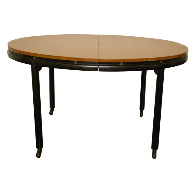 Baker Furniture New World Group Floating Top Table For Sale