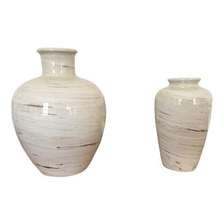 Bitossi Italian Ceramic Vessels - a Pair For Sale