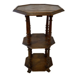 19th-C. French Tiered Table For Sale
