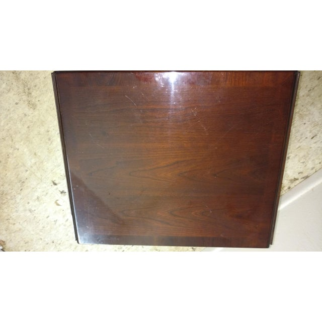 Duncan Phyfe-Style Drop Leaf Side Table - Image 6 of 7