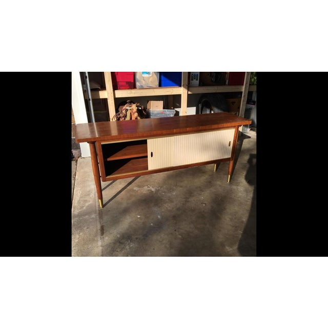 Mid-Century Modern 1960s Mid Century Modern Buffet Credenza Storage Table For Sale - Image 3 of 11