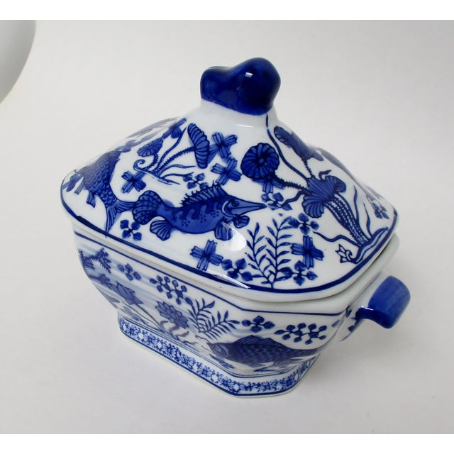 Ceramic Small Porcelain Tureen For Sale - Image 7 of 7