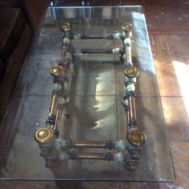 Mid Century Sculptural Coffee Table - Image 4 of 7