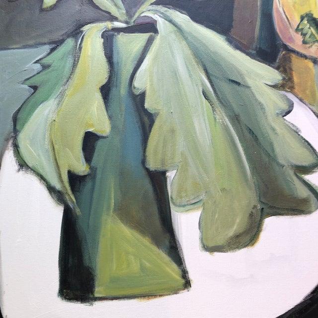 Original Contemporary Stewart Ross Modernist Still Life Painting Framed For Sale - Image 4 of 6