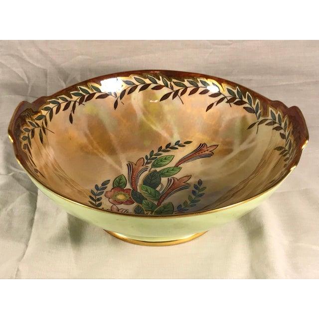 Vintage Royal Winton Grimwades Footed Trinket Dish For Sale - Image 4 of 11