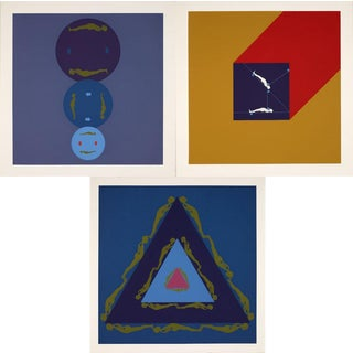 "Three prints by Ernest Trova from the ""Manscape"" series For Sale"