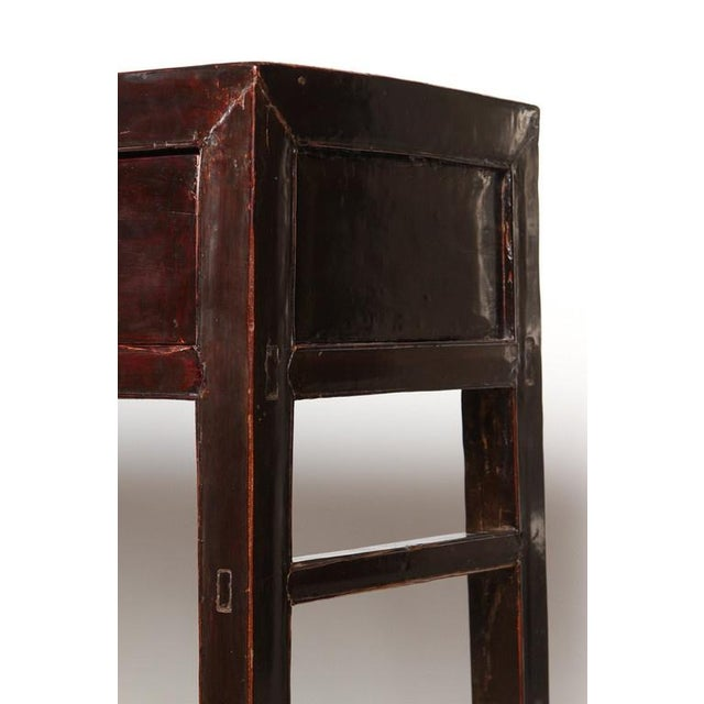 18th Century Five-Drawer Chinese Scholar's Table For Sale - Image 4 of 10