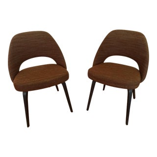 Modern Saarinen for Knoll Executive Side Chair- a Pair For Sale