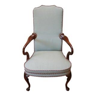 Mahogany High Back Chair