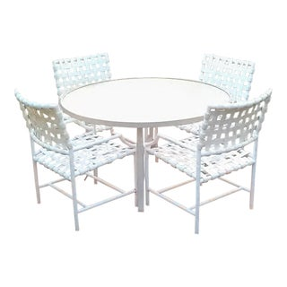 1960s Vintage Tropitone Cantina-Outdoor Patio Dining Set-5 Pieces For Sale