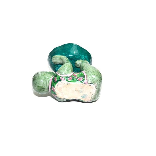 Ceramic Monkey Figurine Monkey Dish - Image 6 of 6