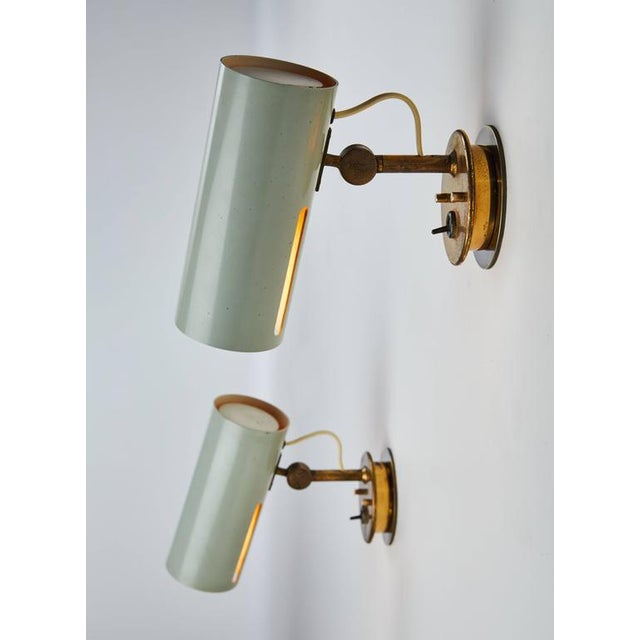 Pair of Articulating Sconces by Stilnovo - Image 3 of 9