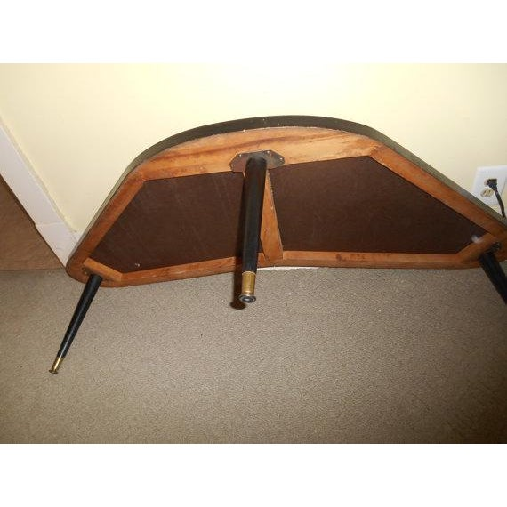Mid-Century Modern Atomic Boomerang Table - Image 5 of 5