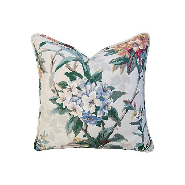 P. Kaufmann Rhododendron Pillows - A Pair - Image 4 of 7
