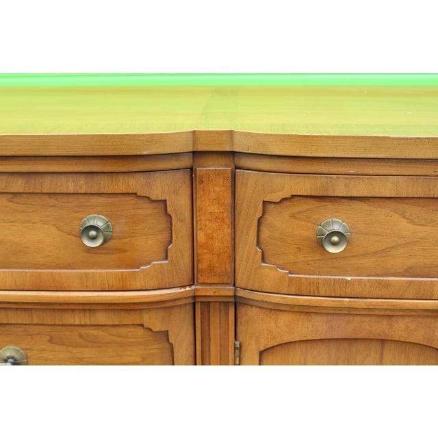Mid-Century Walnut Dresser For Sale - Image 9 of 9