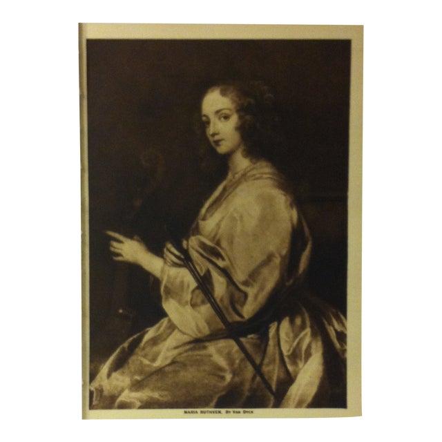 """Circa 1915 """"Maria Ruthven"""" the Mentor Association Print For Sale"""
