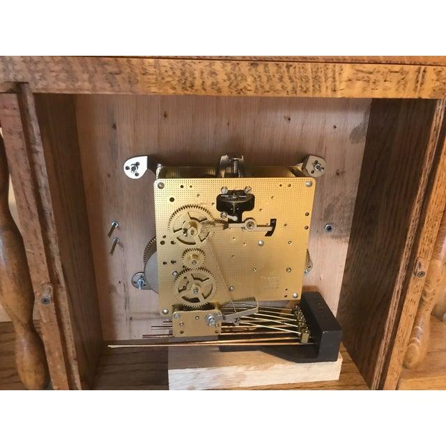 Wood Franz H. Vintage Mantel Clock For Sale - Image 7 of 11