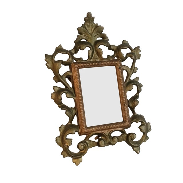 Cast Iron Gold Easel Frame - Image 1 of 3
