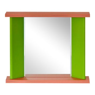 "Marco Zanini for Marutomi Green ""You Again"" Mirror For Sale"