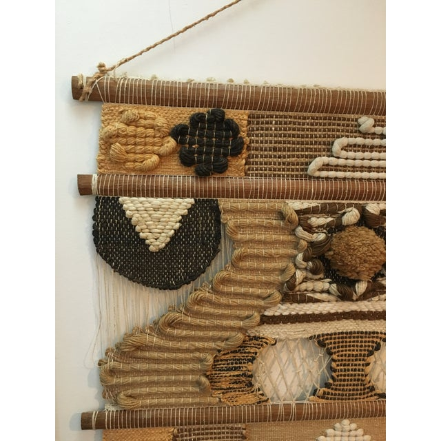 Don Freedman Macrame Wall Hanging For Sale - Image 10 of 11
