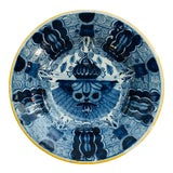 Image of 18th Century Delft Plate For Sale