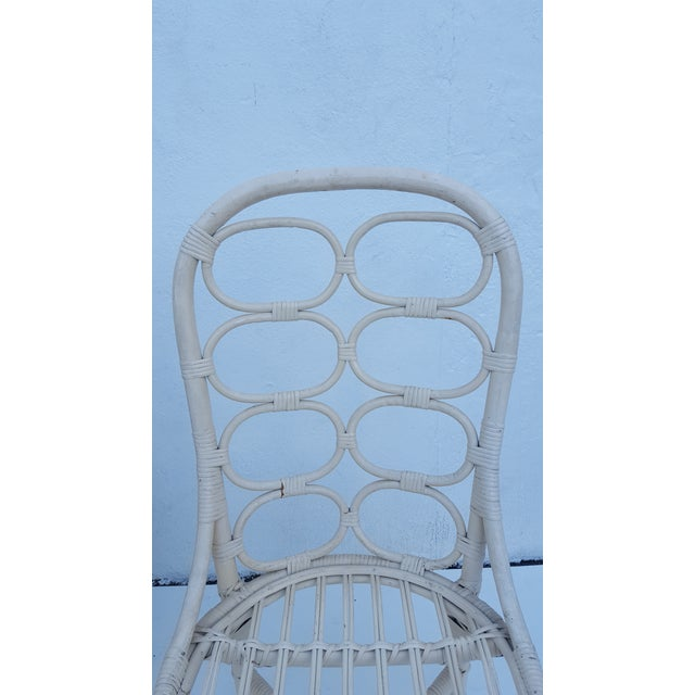 Franco Albini Inspired Rattan Dining Chairs - Set Of 6 - Image 10 of 11