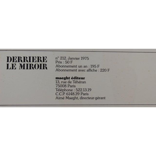 39 derriere le miroir no 212 alexander calder 39 book for Maeght derriere le miroir