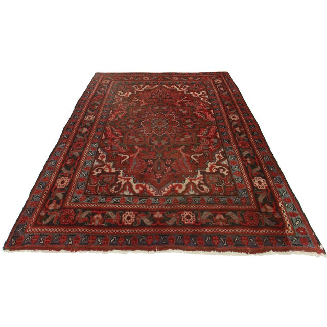 RugsinDallas Hand Knotted Wool Turkish - 3′11″ × 5′7″ - Image 2 of 2