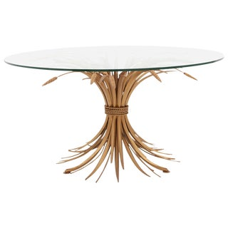 Coco Chanel Wheat Sheaf Coffee Table For Sale