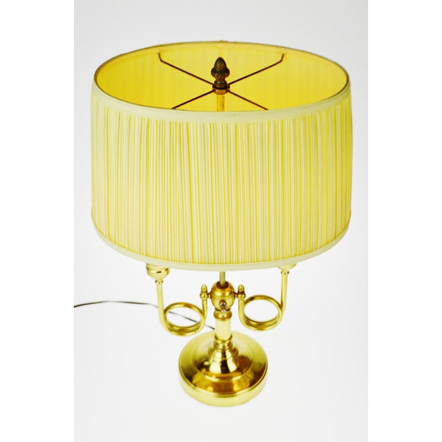 Vintage Bouillotte Style Table Lamp - Image 3 of 11