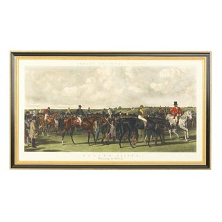 Chelsea House Inc Fores Racing-Ret/Weig Engraving Print For Sale