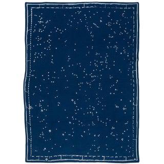 Constellation Cashmere Blanket, Midnight, Queen For Sale