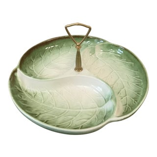 Vintage Haeger Porcelain Serveware Tray For Sale