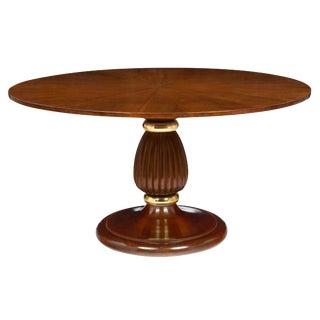 Paolo Buffa Attributed Italian Mid-Century Walnut Table
