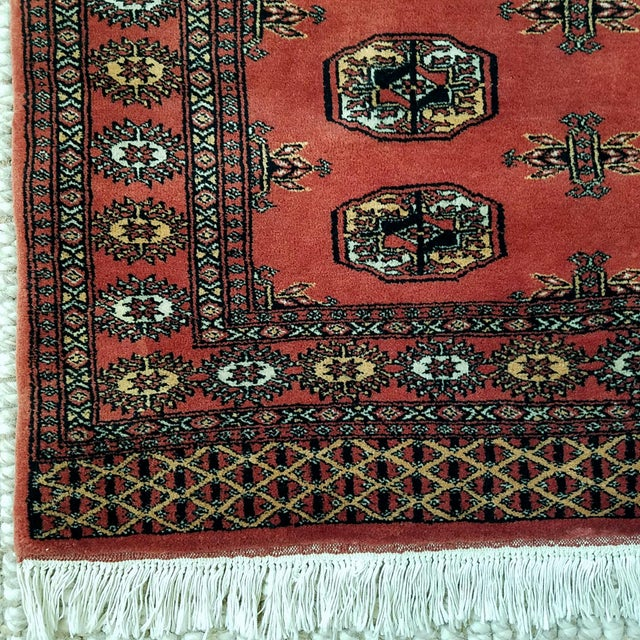 Vintage Hand Woven Persian Rug - 3′ × 5′7″ - Image 4 of 7