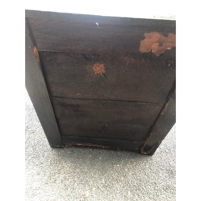18th Century Georgian Oak Cabinet For Sale - Image 9 of 13