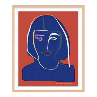 Annalise Line Portrait Ash L For Sale