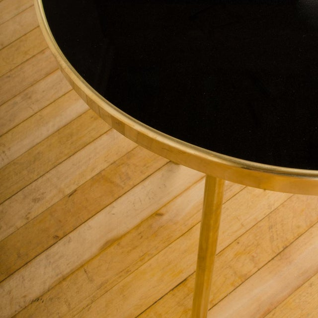 Brass Italian Modern Brass Occasional Tables - a Pair For Sale - Image 8 of 12