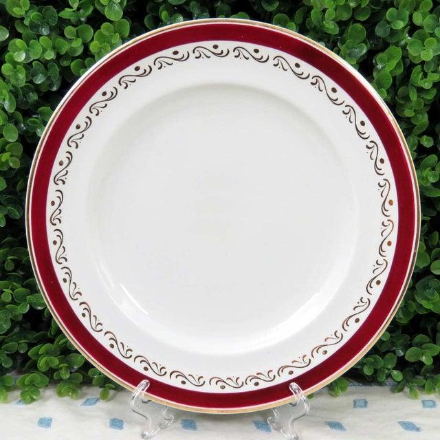 Vintage Mismatched Fine China Dinner Plates - Set of 4 - Image 2 of 10