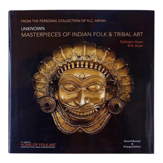 """Unknown Masterpieces Of Indian Folk & Tribal Art"" Large Coffee Table Book For Sale"
