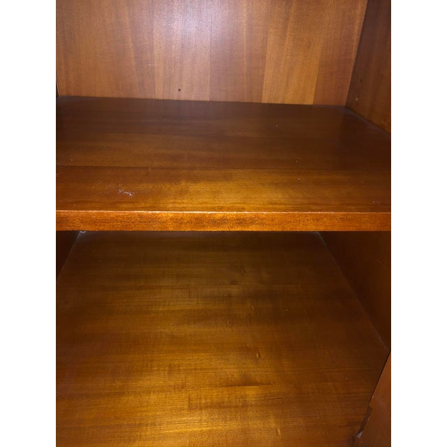 1990s Traditional Hickory White Wooden Credenza For Sale - Image 9 of 12