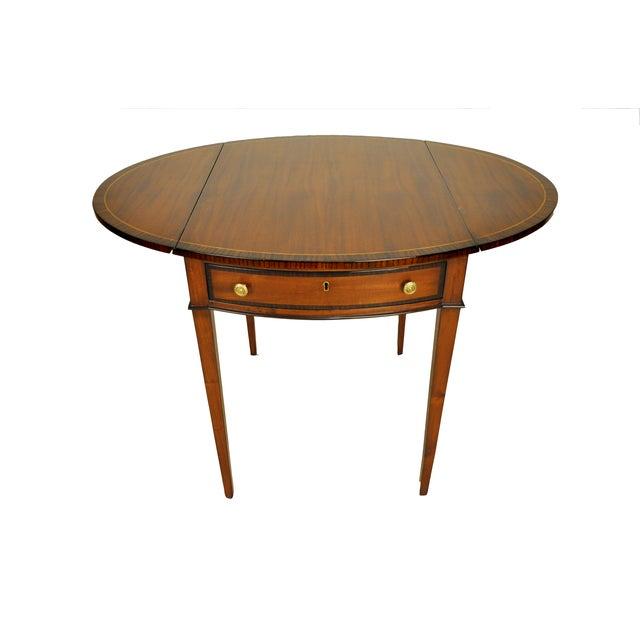 George III Drop-Leaf Pembroke Side Table - Image 1 of 4