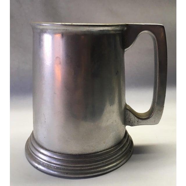 Metal Pewter Noggin' Tankard For Sale - Image 7 of 7