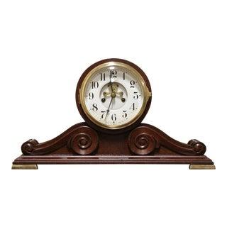 "Antique Regency Waterbury ""Kent"" Model Open Escapement Mantel Clock For Sale"