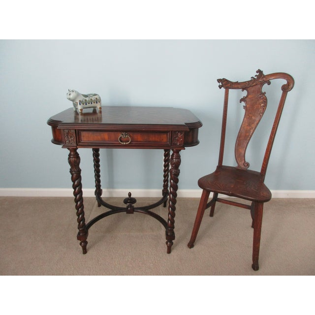 Maitland Smith Barley Twist Side or Console Table For Sale - Image 12 of 13