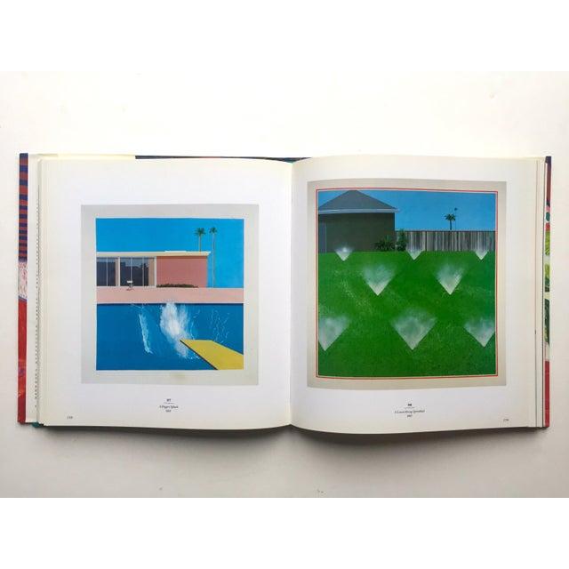 "1980s "" David Hockney a Retrospective "" 1st Edtn Vintage 1988 Collector's Hardcover Art Exhibition Book For Sale - Image 5 of 12"