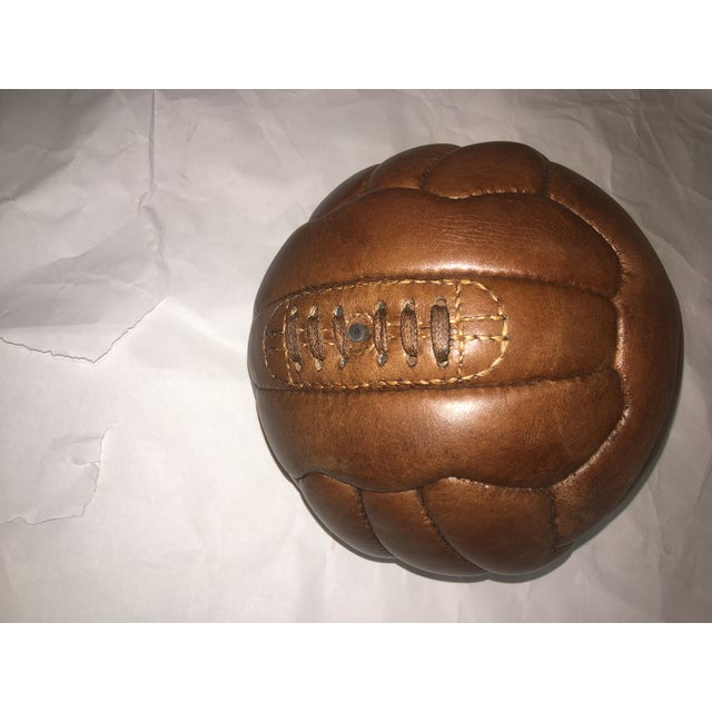 English Soccer Match Leather Ball - Image 3 of 9